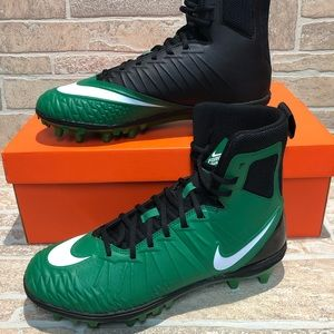Nike Force Savage Varsity Cleats Green Black Sz 10